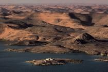 Lake Nasser © Philip Plisson / Pêcheur d'Images / AA30307 - Photo Galleries - Egypt from above