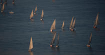 On Nile river. © Philip Plisson / Pêcheur d'Images / AA30351 - Photo Galleries - Egypt from above