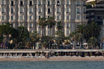 L'hotel Carlton à Cannes © Philip Plisson / Pêcheur d'Images / AA32117 - Nos reportages photos - Hotel