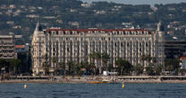 L'hotel Carlton à Cannes © Philip Plisson / Pêcheur d'Images / AA32133 - Nos reportages photos - Hotel