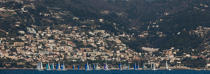 Regatta at Roquebrune-Cap-Martin [AT] © Philip Plisson / Pêcheur d'Images / AA32504 - Photo Galleries - From La Napoule to Menton