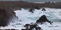 The storm Joachim on the Brittany coast. [AT] © Philip Plisson / Pêcheur d'Images / AA32850 - Photo Galleries - Island [29]