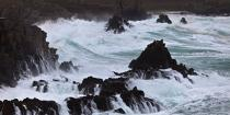 The storm Joachim on the Brittany coast. [AT] © Philip Plisson / Pêcheur d'Images / AA32851 - Photo Galleries - Winters storms on Brittany coasts