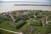 Blaye citadelle © Philip Plisson / Pêcheur d'Images / AA33525 - Photo Galleries - Gironde