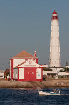 Faro island © Philip Plisson / Pêcheur d'Images / AA33618 - Photo Galleries - Lighthouse [Por]