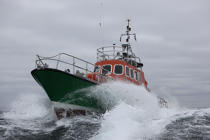 Lifeboat from Sein island © Philip Plisson / Pêcheur d'Images / AA34006 - Photo Galleries - Island [29]