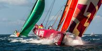 Volvo Ocean Race - Start of the last stage between Lorient and Galway [AT] © Philip Plisson / Pêcheur d'Images / AA34721 - Photo Galleries - Ocean Volvo Race