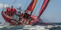 Volvo Ocean Race - Start of the last stage between Lorient and Galway [AT] © Philip Plisson / Pêcheur d'Images / AA34760 - Photo Galleries - Ocean Volvo Race