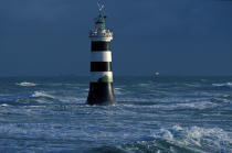 Banche lighthouse © Philip Plisson / Pêcheur d'Images / AA35496 - Photo Galleries - Loire Atlantique