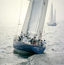 Kriter IX, skippered by André Viant © Philip Plisson / Pêcheur d'Images / AA35673 - Photo Galleries - Square format