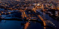 The port of Lorient by night © Philip Plisson / Pêcheur d'Images / AA35914 - Photo Galleries - Night