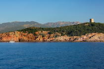 The Pinarellu island, Corsica [AT] © Philip Plisson / Pêcheur d'Images / AA36519 - Photo Galleries - From Bastia to Santa Manza gulf