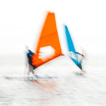Boards sails [AT] © Philip Plisson / Pêcheur d'Images / AA36589 - Photo Galleries - Square format