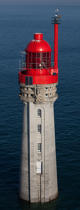 Le Grand Jardin Lighthouse © Philip Plisson / Pêcheur d'Images / AA37127 - Photo Galleries - Vertical panoramic