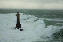 Nividic lighthouse © Philip Plisson / Pêcheur d'Images / AA37226 - Photo Galleries - Island [29]