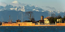 Venice in winter © Philip Plisson / Pêcheur d'Images / AA37342 - Photo Galleries - Mountain