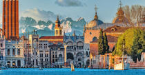 Venice in winter © Philip Plisson / Pêcheur d'Images / AA37343 - Photo Galleries - Mountain