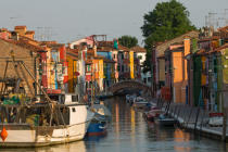 Burano island © Philip Plisson / Pêcheur d'Images / AA37451 - Photo Galleries - The Venitian lagoon