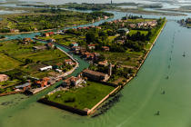 Burano island © Philip Plisson / Pêcheur d'Images / AA37462 - Photo Galleries - The Venitian lagoon