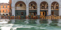 High tide in Venice © Philip Plisson / Pêcheur d'Images / AA37510 - Photo Galleries - Acqua alta in Venice