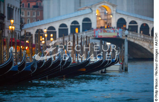 Venice - © Philip Plisson / Pêcheur d'Images / AA37541 - Photo Galleries - Venice like never seen before