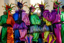 Venice Carnival © Philip Plisson / Pêcheur d'Images / AA37599 - Photo Galleries - Canaval of Venice