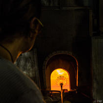 Glass work art at the Murano [AT] © Philip Plisson / Pêcheur d'Images / AA37603 - Photo Galleries - Murano island