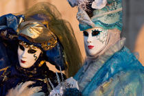 Venice Carnival [AT] © Philip Plisson / Pêcheur d'Images / AA37698 - Photo Galleries - Canaval of Venice