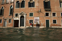 High tide in Venice © Philip Plisson / Pêcheur d'Images / AA37713 - Photo Galleries - Acqua alta in Venice