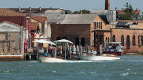 The island of Murano [AT] © Philip Plisson / Pêcheur d'Images / AA37785 - Photo Galleries - Murano island