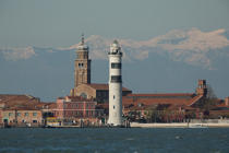 The island of Murano [AT] © Philip Plisson / Pêcheur d'Images / AA37786 - Photo Galleries - Murano island