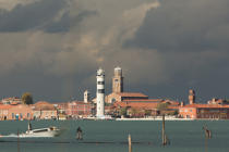 The island of Murano [AT] © Philip Plisson / Pêcheur d'Images / AA37787 - Photo Galleries - Murano island