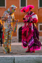 Venice Carnival [AT] © Philip Plisson / Pêcheur d'Images / AA37902 - Photo Galleries - Venice like never seen before