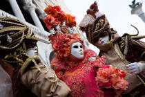 Venice Carnival [AT] © Philip Plisson / Pêcheur d'Images / AA37905 - Photo Galleries - Venice like never seen before