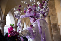Venice Carnival [AT] © Philip Plisson / Pêcheur d'Images / AA37906 - Photo Galleries - Venice like never seen before