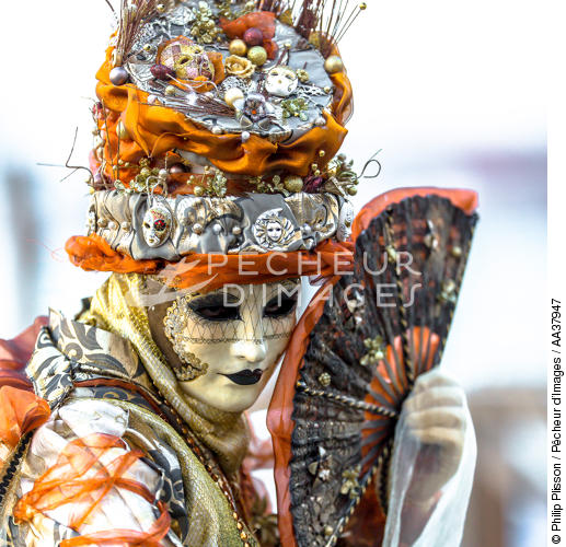The Carnival of Venice [AT] - © Philip Plisson / Pêcheur d'Images / AA37947 - Photo Galleries - Square format