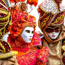 The Carnival of Venice [AT] © Philip Plisson / Pêcheur d'Images / AA37954 - Photo Galleries - Town [It]