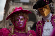 The Carnival of Venice [AT] © Philip Plisson / Pêcheur d'Images / AA37955 - Photo Galleries - Town [It]