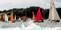 © Philip Plisson / Pêcheur d'Images / AA38504 La semaine du Golfe 2015 - Photo Galleries - Morbihan [The gulf of the]