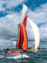© Philip Plisson / Pêcheur d'Images / AA38341 La semaine du Golfe 2015 - Photo Galleries - Morbihan [The gulf of the]