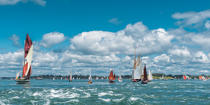 © Philip Plisson / Pêcheur d'Images / AA38346 La semaine du Golfe 2015 - Photo Galleries - Morbihan [The gulf of the]
