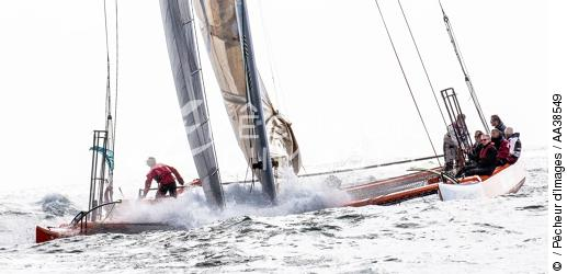 Tour de Belle-Ile 2015 - Le trimaran de 42 pieds My Way - ©  / Pêcheur d'Images / AA38549 - Nos reportages photos - Terme marin