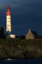 © Philip Plisson / Pêcheur d'Images / AA38960 St Mathieu lighthouse - Photo Galleries - Finistère