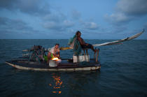 © Philip Plisson / Pêcheur d'Images / AA39061 Fortim, Brasil - Photo Galleries - Fishing vessel