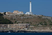 © Philip Plisson / Pêcheur d'Images / AA39246 Santa Maria di Leuca lighthouse - Photo Galleries - Maritime Signals