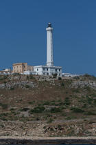 © Philip Plisson / Pêcheur d'Images / AA39247 Santa Maria di Leuca lighthouse - Photo Galleries - Maritime Signals