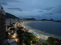 © Philip Plisson / Pêcheur d'Images / AA39345 Rio de Janeiro - Photo Galleries - Night