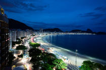© Philip Plisson / Pêcheur d'Images / AA39353 Rio de Janeiro - Photo Galleries - Night