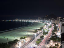 © Philip Plisson / Pêcheur d'Images / AA39352 Rio de Janeiro - Photo Galleries - Night