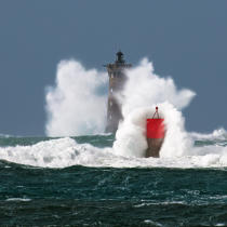 ©  / Pêcheur d'Images / AA39408 Four lighthouse, Zeus storm - Photo Galleries - Maritime Signals